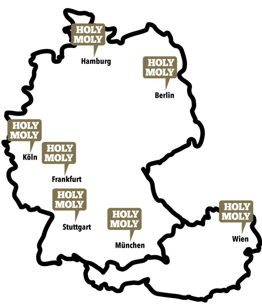 Holy Moly Deutschlandkarte